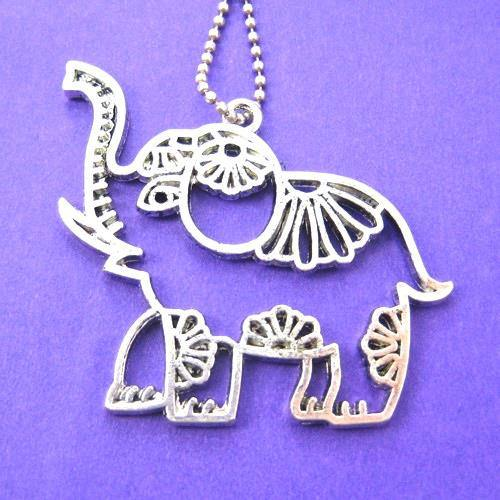 elephant-animal-pendant-charm-necklace-in-silver-with-floral-details