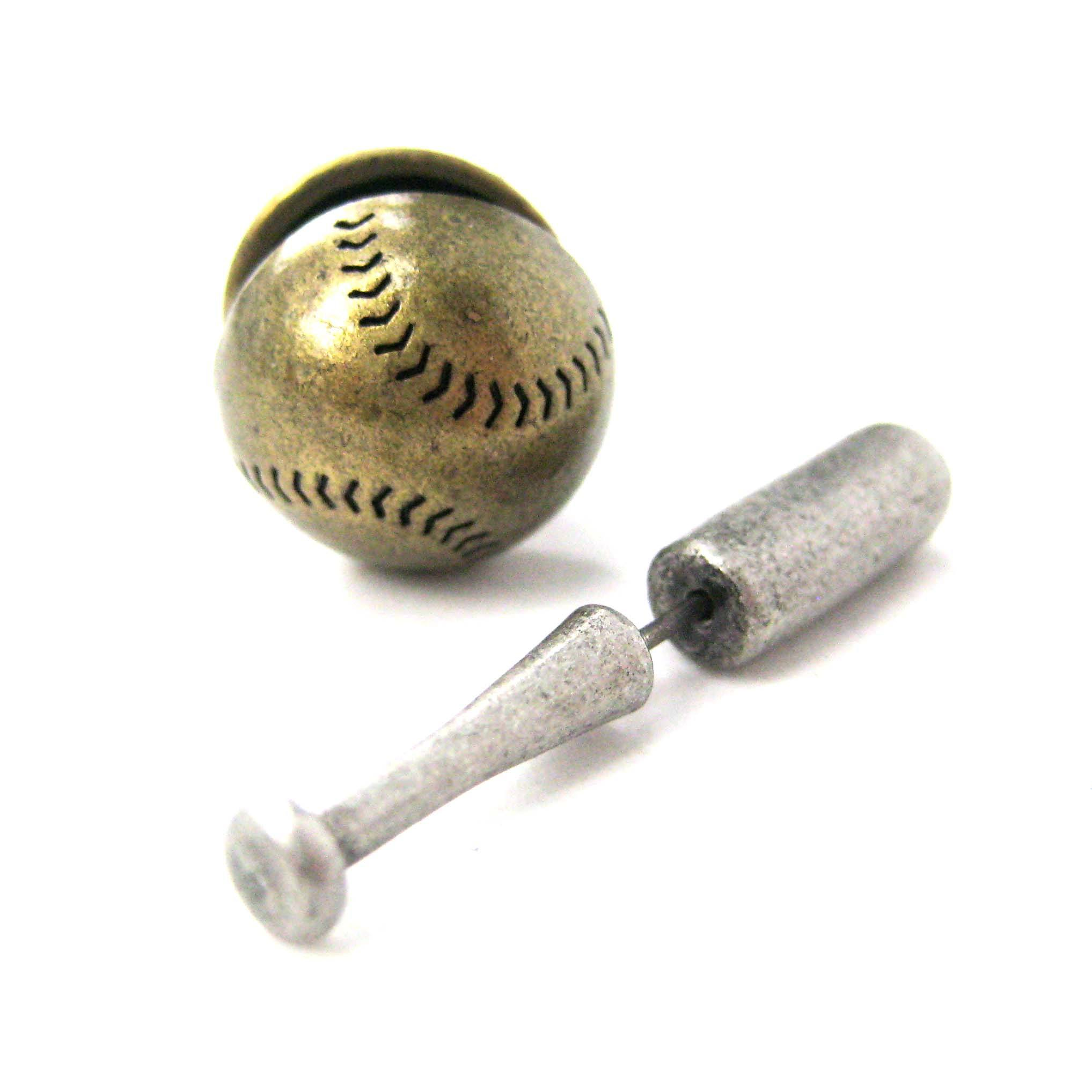 fake-gauge-earrings-baseball-bat-and-ball-shaped-faux-plug-stud-earrings