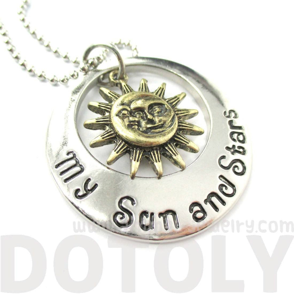Game of Thrones My Sun And Stars & Moon Of My Life Khaleesi Necklace