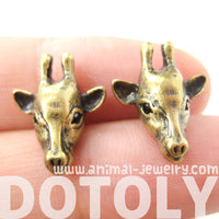 giraffe-realistic-animal-stud-earrings-in-brass-animal-jewelry