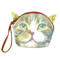 Kitty Cat Face Shaped Clutch Bag | Gifts for Cat Lovers