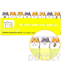 Guinea Pig Hamster Shaped Post-it Bookmark Memo Tabs
