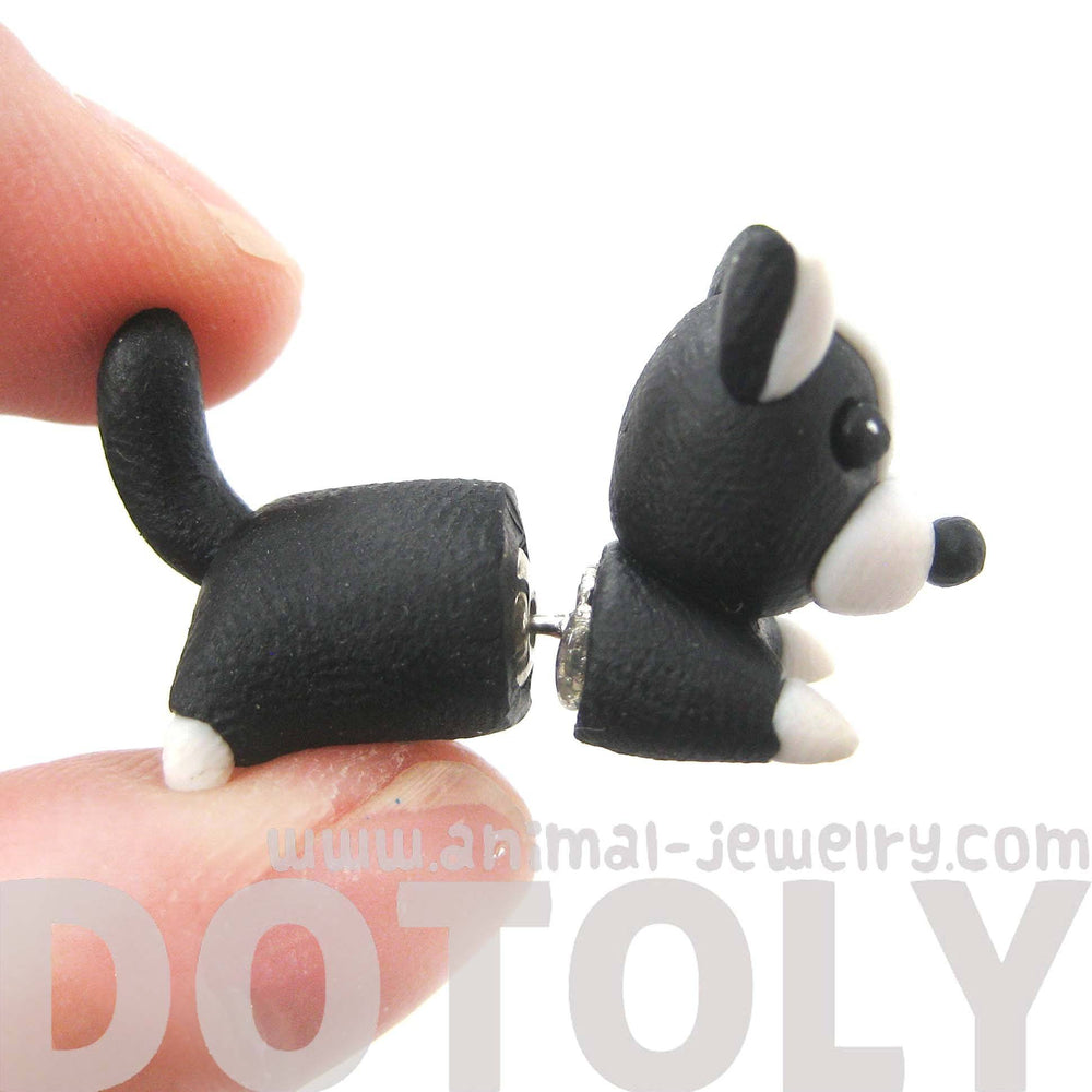 handmade-boston-terrier-puppy-dog-animal-fake-gauge-polymer-clay-stud-earring