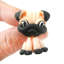 handmade-pug-puppy-dog-fake-gauge-two-part-polymer-clay-stud-earring