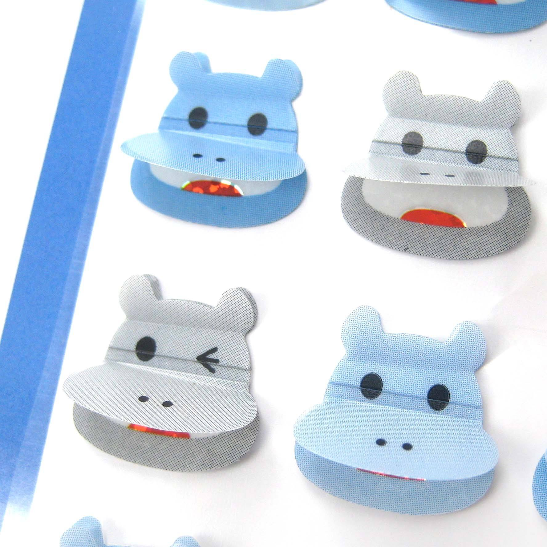 hippopotamus-hippo-shaped-3d-pop-up-stickers-for-scrapbooking-and-decorating