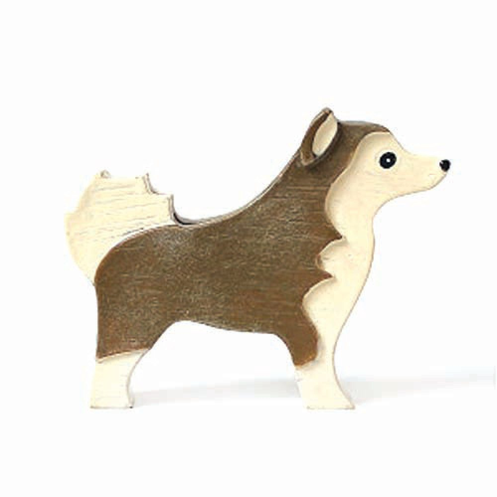 Husky Shaped Photo Stand Business Card Holder | Gifts for Dog Lovers