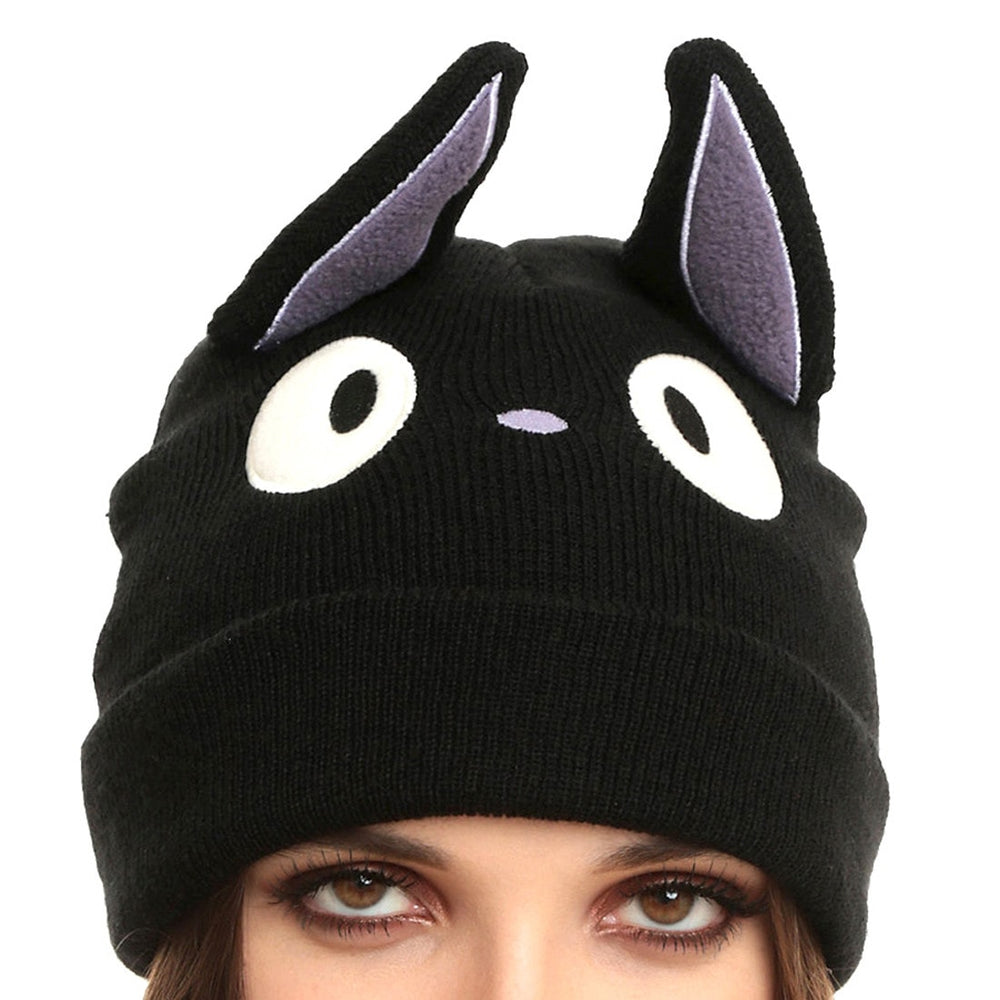 Kiki's Delivery Service Black Cat Jiji Knit Beanie Hat