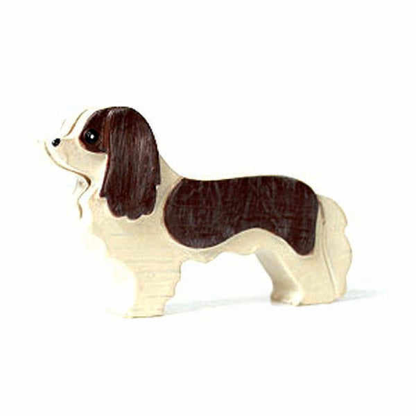 King Charles Spaniel Shaped Animal Photo Stand Business Card Holder