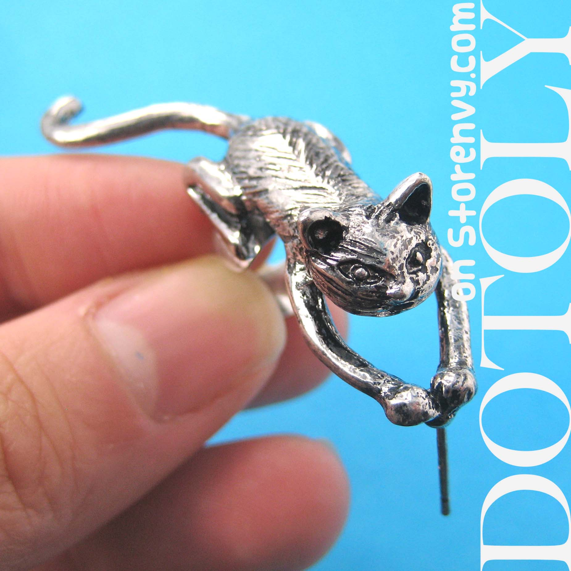 kitty-cat-cute-animal-wrap-ear-cuff-in-silver-dotoly