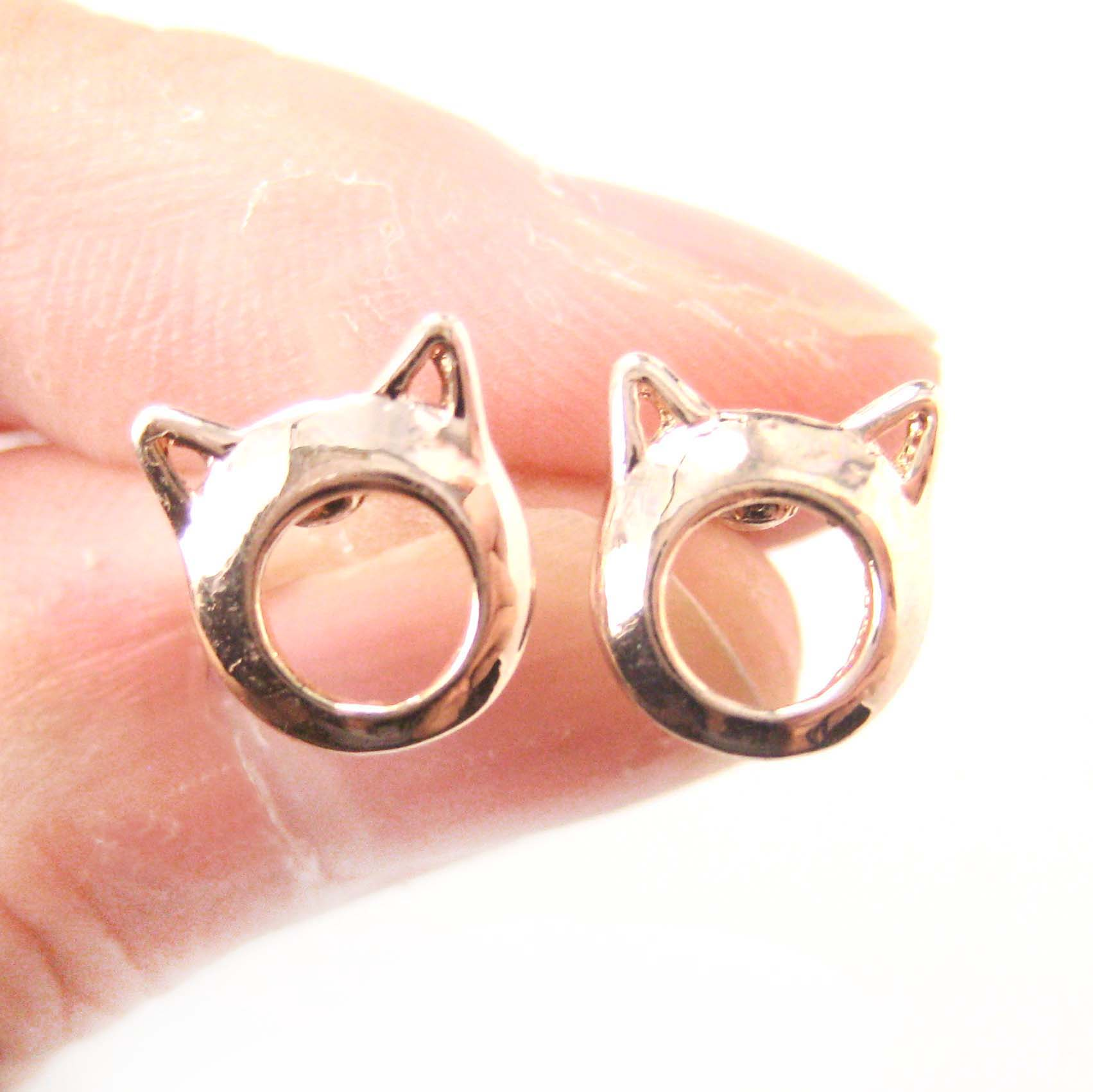 kitty-cat-animal-ears-cut-out-stud-earrings-in-rose-gold