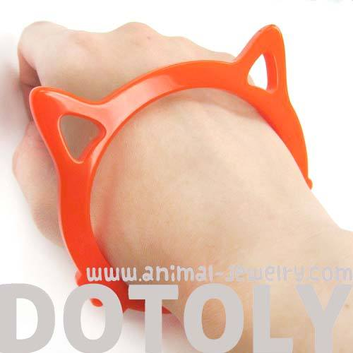 kitty-cat-shaped-animal-bangle-bracelet