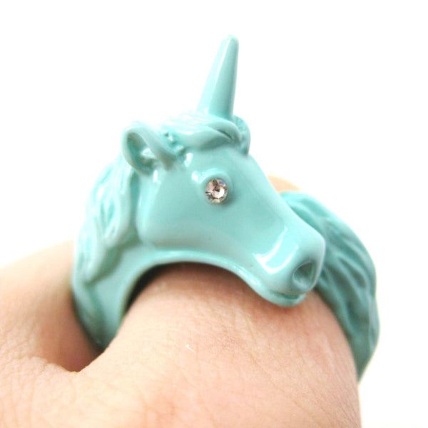 large-detailed-unicorn-animal-wrap-around-ring-in-mint-blue-size-5-to-8