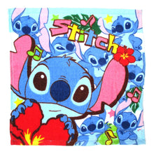 Lilo and Stitch Alien Collage Print Square Face Towel Handkerchief