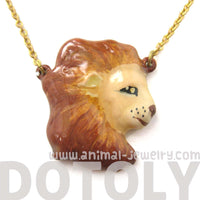 lion-shaped-animal-enamel-pendant-necklace-limited-edition