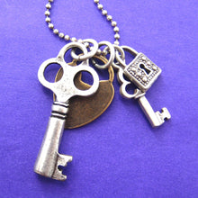 lock-and-skeleton-key-pendant-necklace-in-silver-and-brass-dotoly