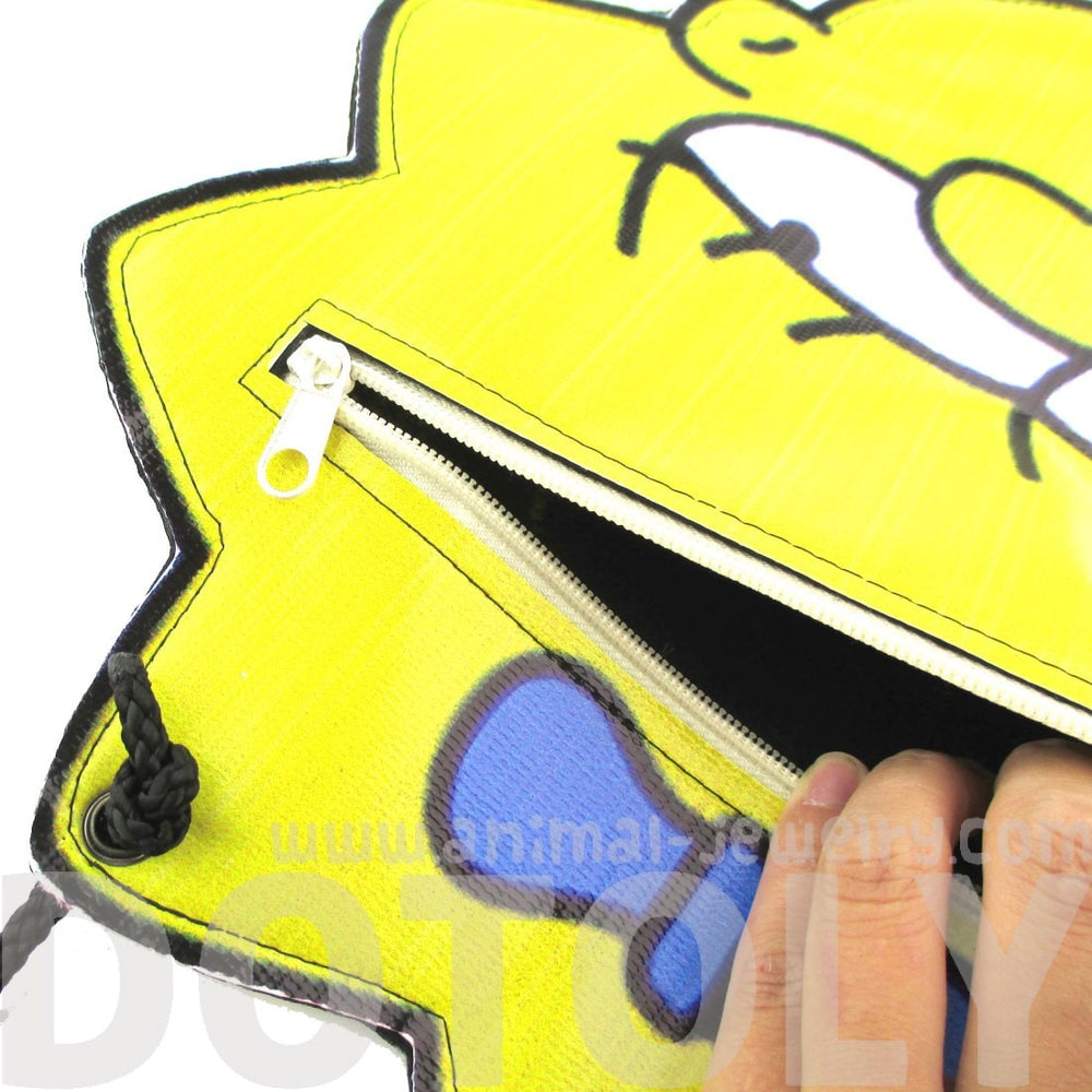 Maggie Simpson Shaped Photo Print Vinyl Cross Body Bag
