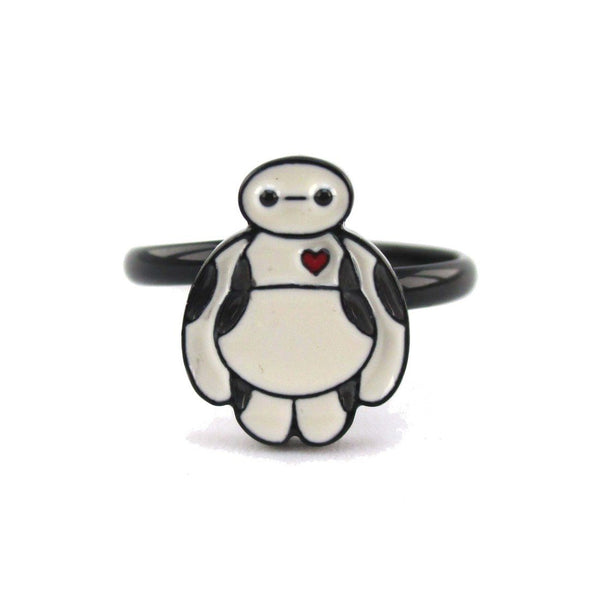 Marvel Big Hero 6 Baymax Shaped Adjustable Ring | DOTOLY