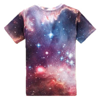 Meerkat Prairie Dog in Space Universe Graphic Print Tee