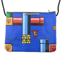 Mega Man Rockman Capcom 8-Bit Game Print Cross Body Bag