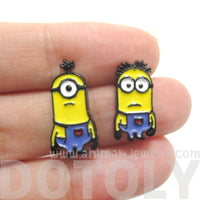 Minions From Despicable Me Mix and Match Stud Earrings
