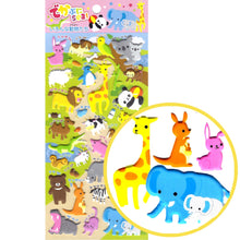 Mixed Kawaii Animal Themed Elephant Llamma Giraffe Koala Stickers