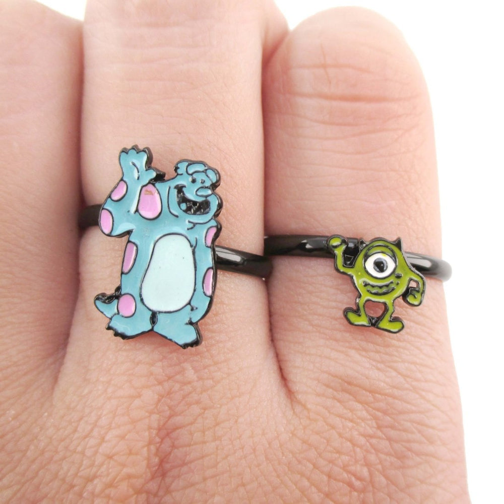 Monsters Inc Sullivan Mike Shaped Adjustable Ring | DOTOLY