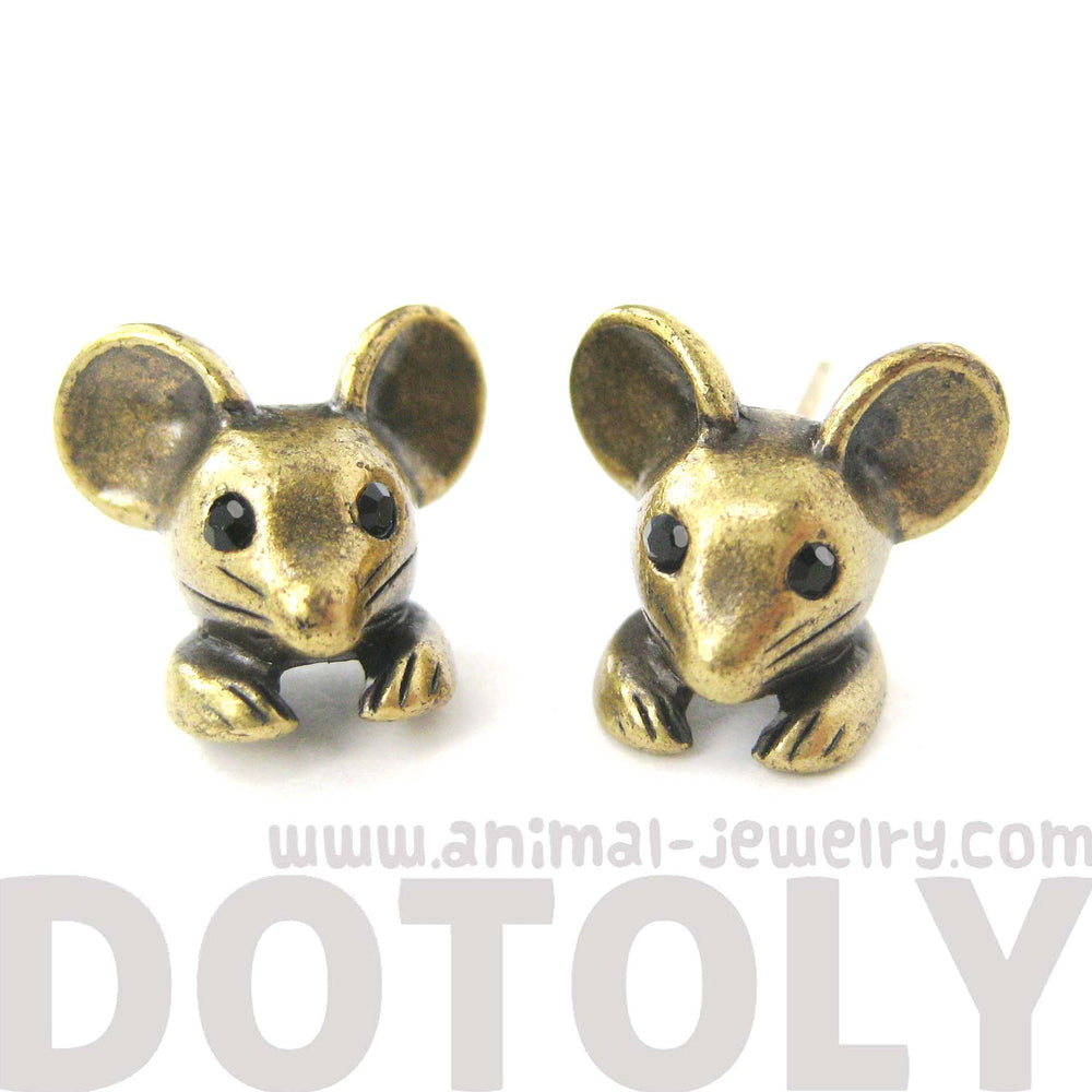 mouse-realistic-animal-stud-earrings-in-brass-dotoly