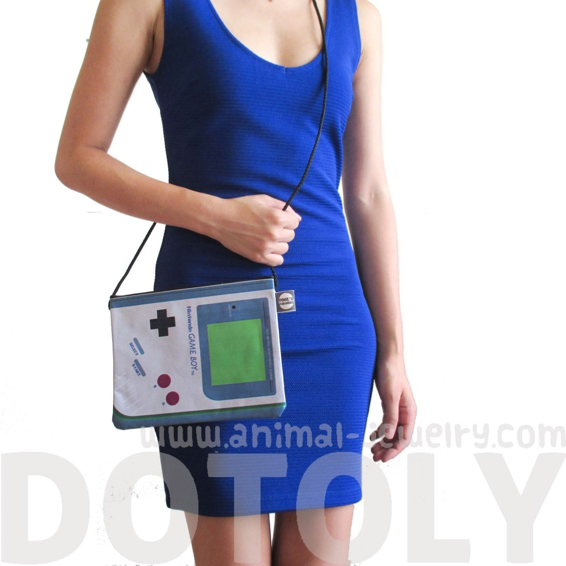 Nintendo Game Boy Shaped Vinyl Cross Body Bag | DOTOLY