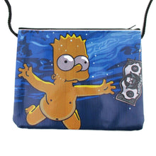 Nirvana Nevermind Bart Simpson Parody Shaped xBody Bag
