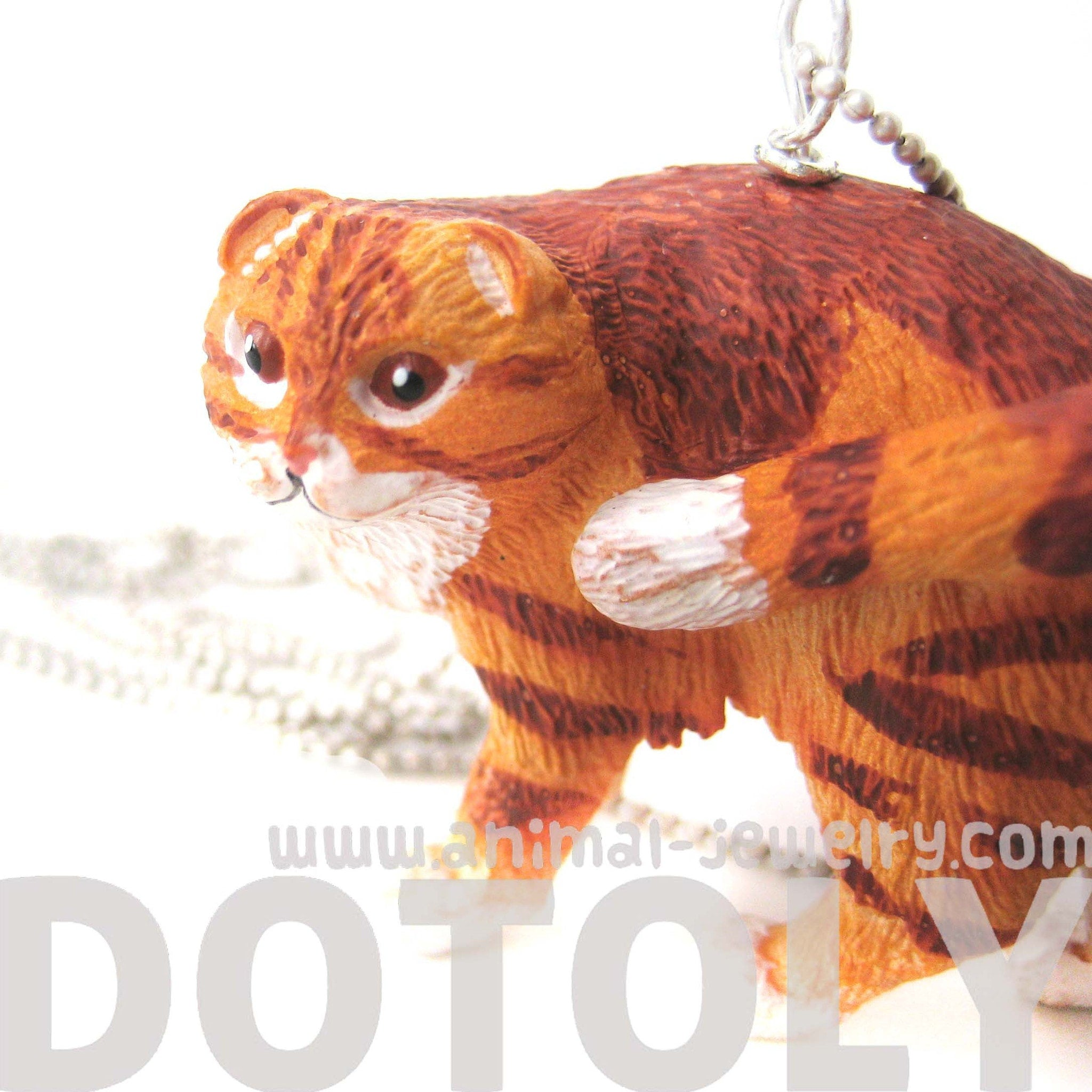 orange-and-white-manx-tabby-kitty-cat-animal-plastic-pendant-necklace-animal-jewelry