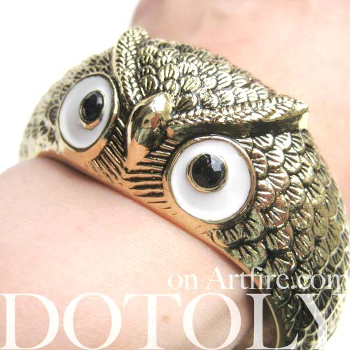 owl-bird-animal-bangle-bracelet-in-brass-animal-jewelry