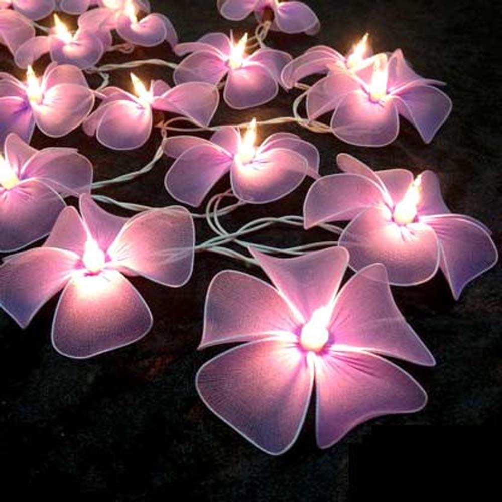 pale-purple-floral-flower-handmade-string-lights