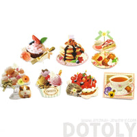 Pancakes Ice Cream Sweets Shaped Food Themed Sticker Pack From Japan