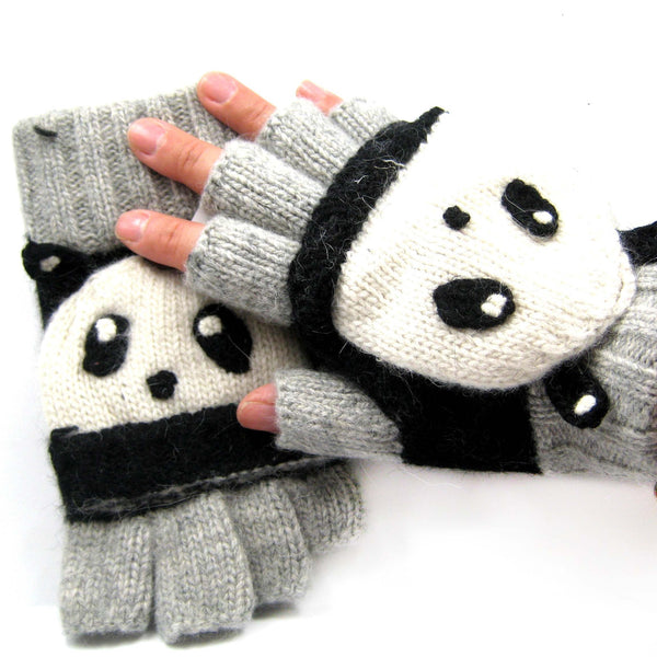 panda-bear-shaped-animal-themed-wool-knit-fingerless-popover-mitten-gloves-for-women