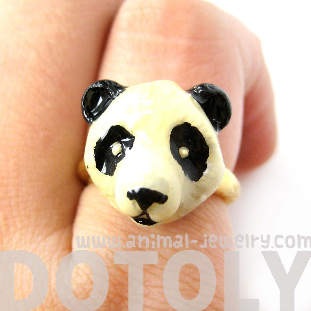 panda-teddy-bear-shaped-enamel-animal-ring-in-size-5-and-6-limited-edition