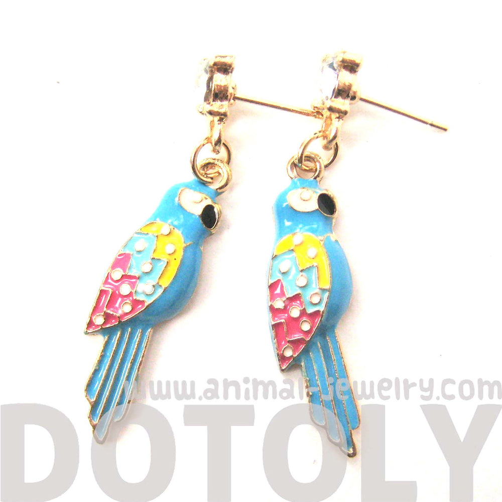 parrot-bird-colorful-animal-dangle-earrings-animal-jewelry