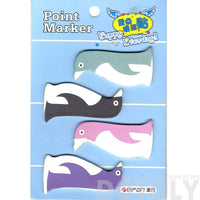 Penguin Shaped Animal Themed Memo Adhesive Point Marker Post it Tabs | DOTOLY