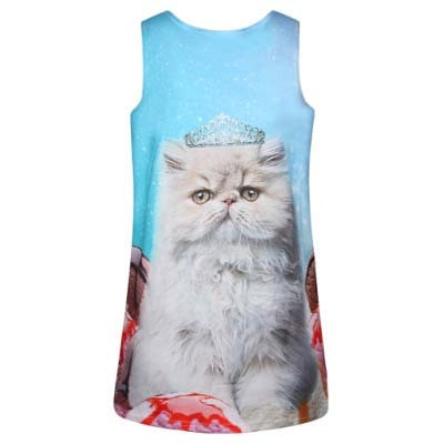 persian-kitty-cat-princess-crown-all-over-graphic-print-tank-top-for-women