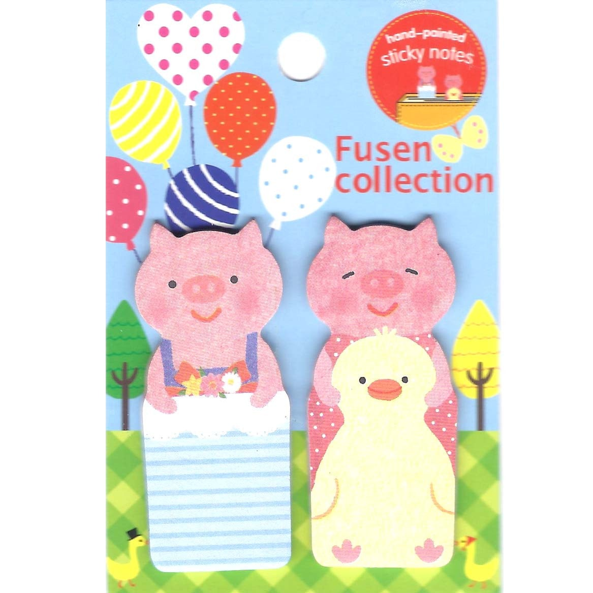 Piglet Pig Shape Animal Stationery Memo Post-it Adhesive Bookmark Tabs
