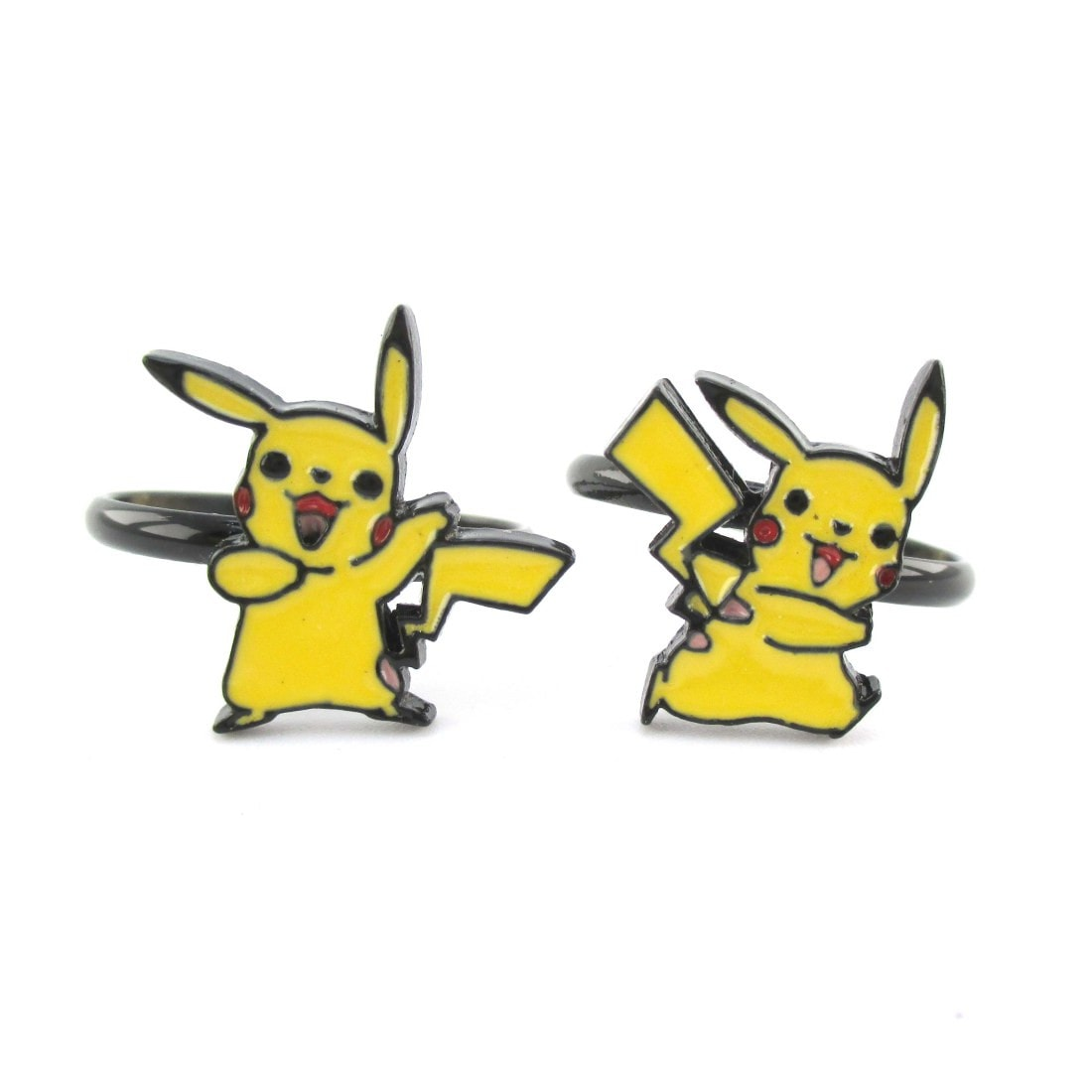 Pikachu Shaped Nintendo Pokémon Themed Adjustable Ring