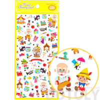 Pinocchio Fairy Tale Themed Storytelling Stickers