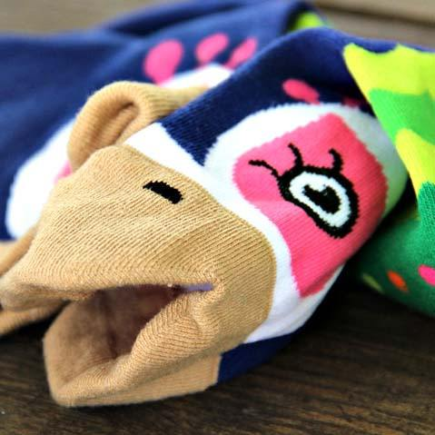 pretty-peacock-bird-shaped-animal-short-cotton-socks-for-women