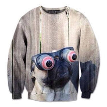 pug-wearing-funny-eye-glasses-graphic-print-unisex-pullover-sweater-gifts-for-dog-lovers