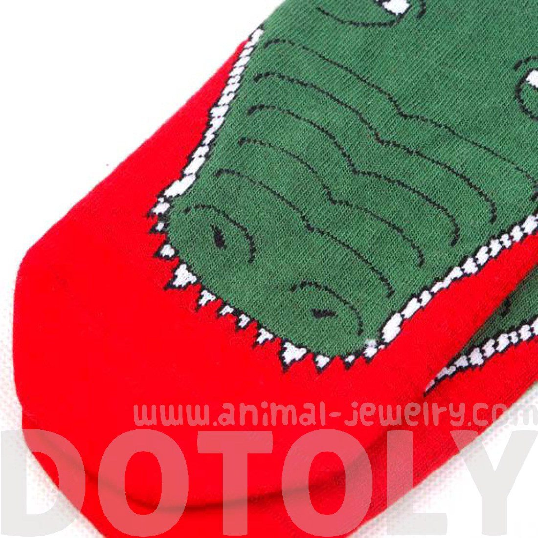 Quriky Crocodile Alligator Animal Shaped Long Cotton Socks for Couples