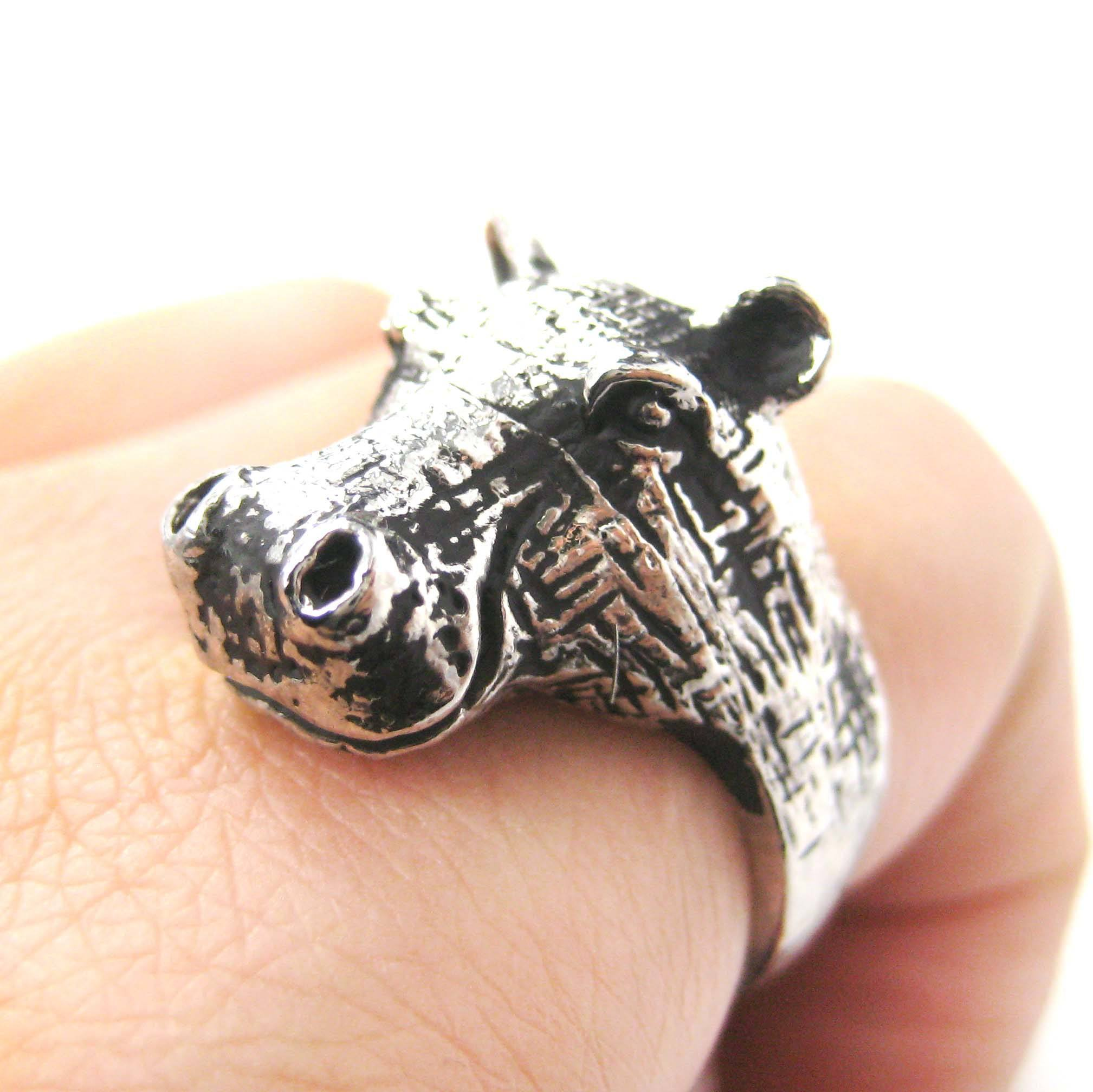 realistic-hippo-hippopotamus-shaped-animal-ring-in-silver-us-size-7-and-8