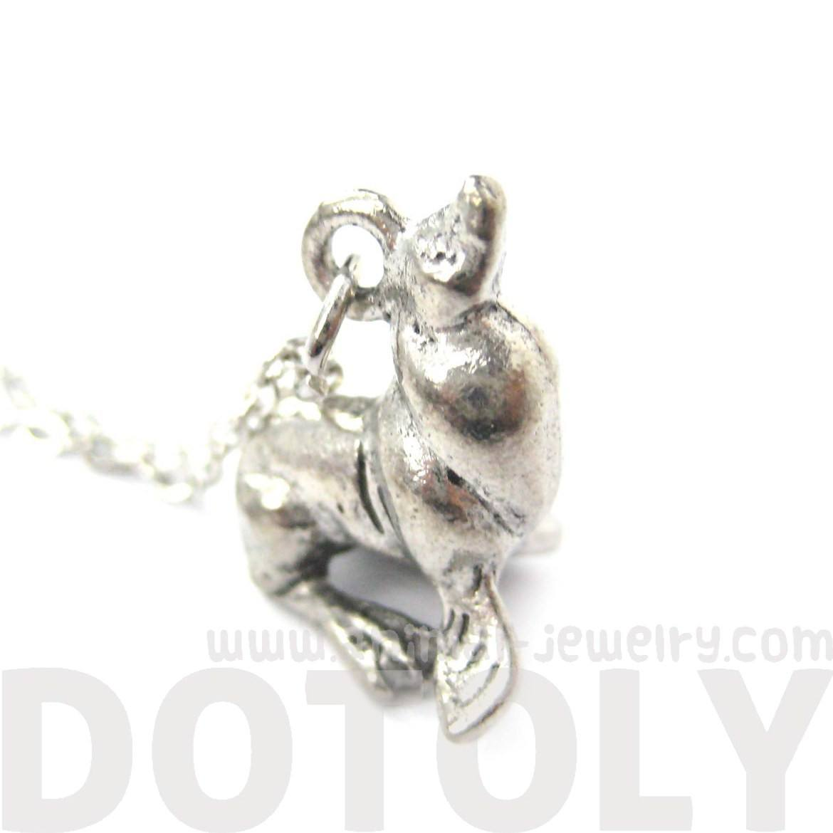 Realistic Sea Lion Seal Shaped Animal Charm Necklace | MADE IN USA