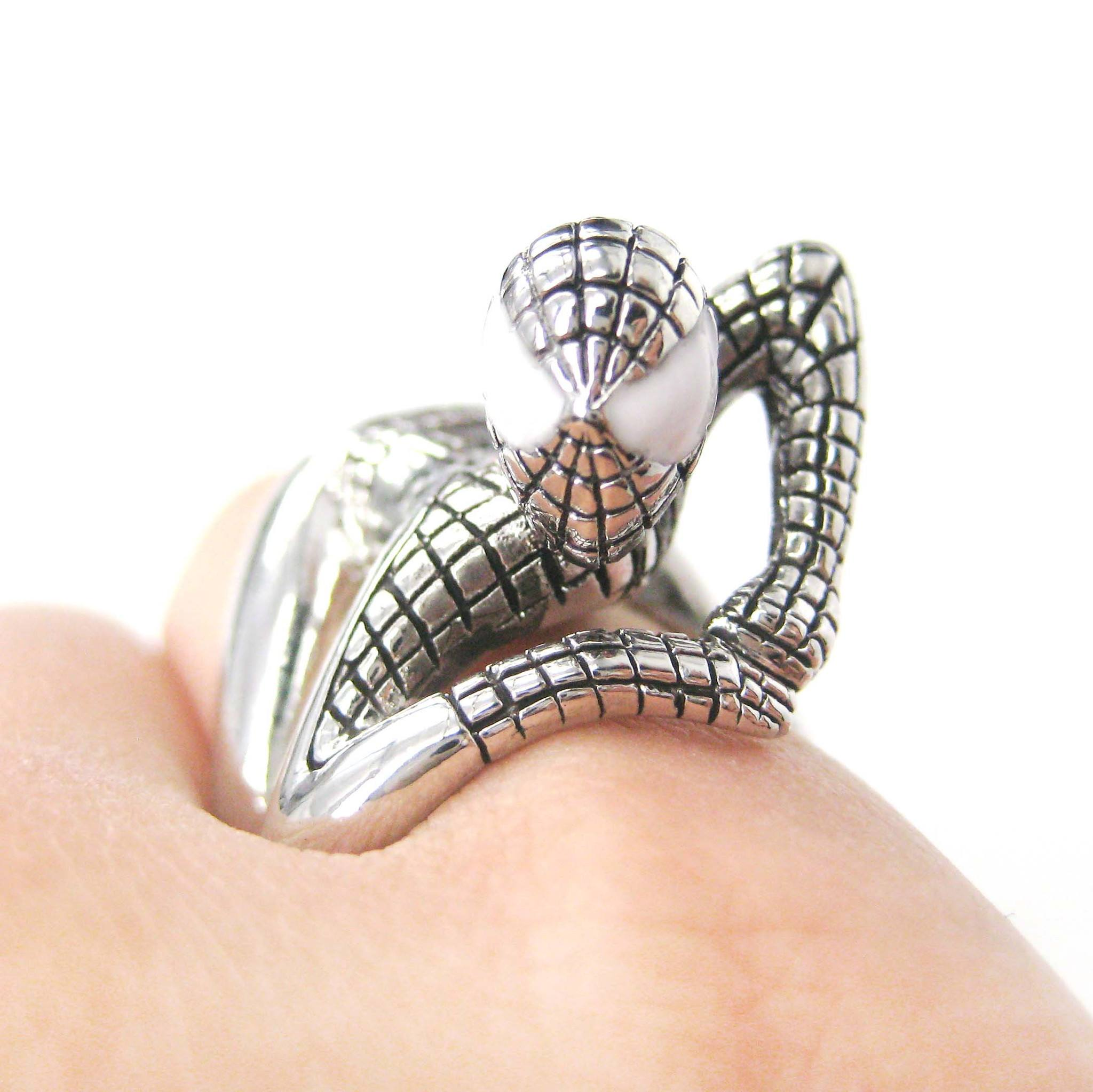 realistic-spiderman-wrapped-around-your-finger-ring-in-shiny-silver-us-size-8-and-9