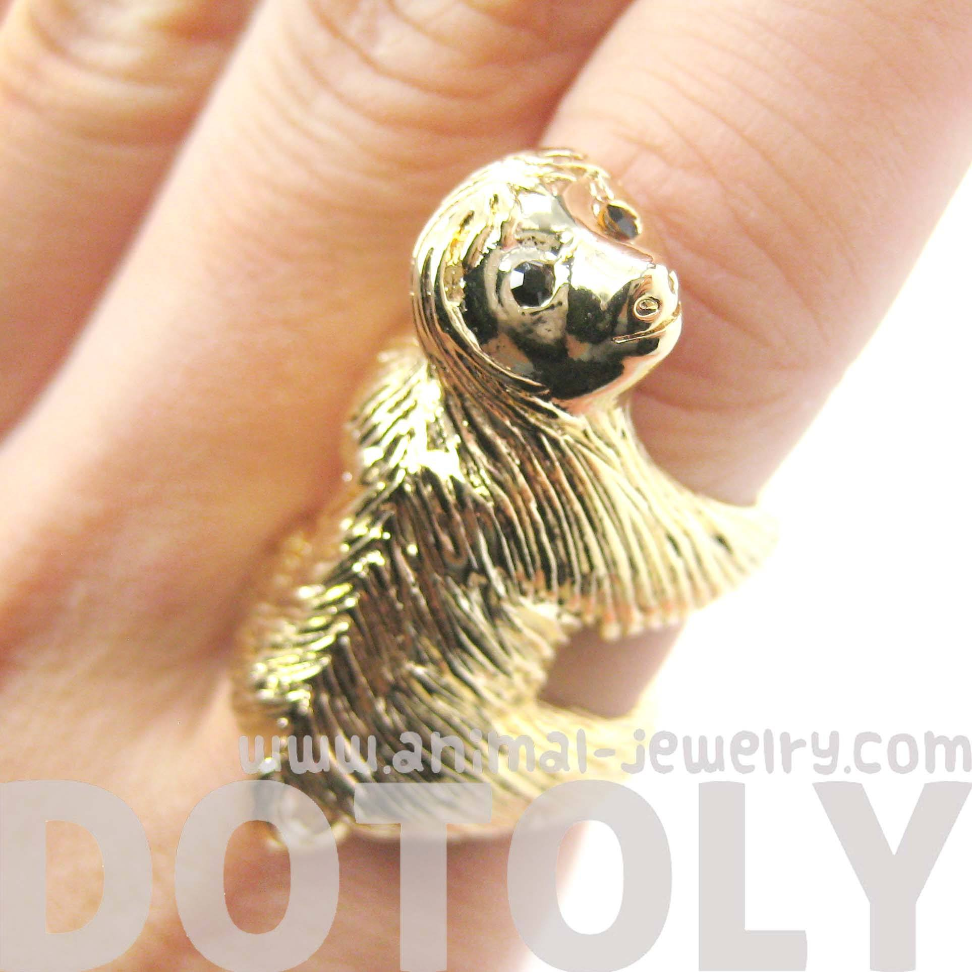realistic-three-toed-sloth-shaped-animal-wrap-ring-in-shiny-gold-us-sizes-4-to-9
