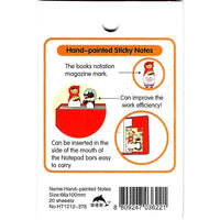 Red Riding Hood and Wolf Animal Memo Post-it Adhesive Bookmark Tabs | Stationery | DOTOLY