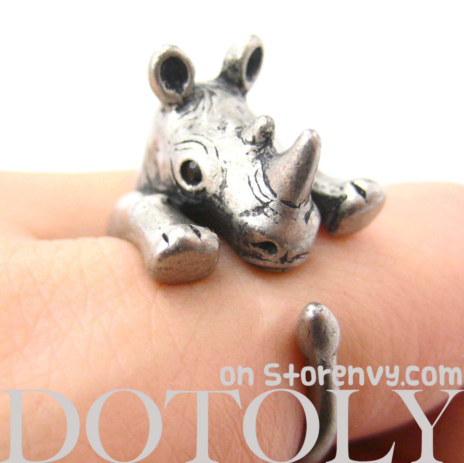 rhino-rhinoceros-animal-ring-in-silver